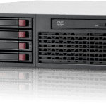HP server case